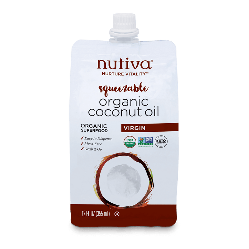 Virgin Coconut Oil 12 oz Pouch