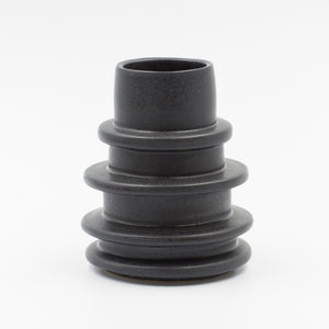 Black Spindle Vase