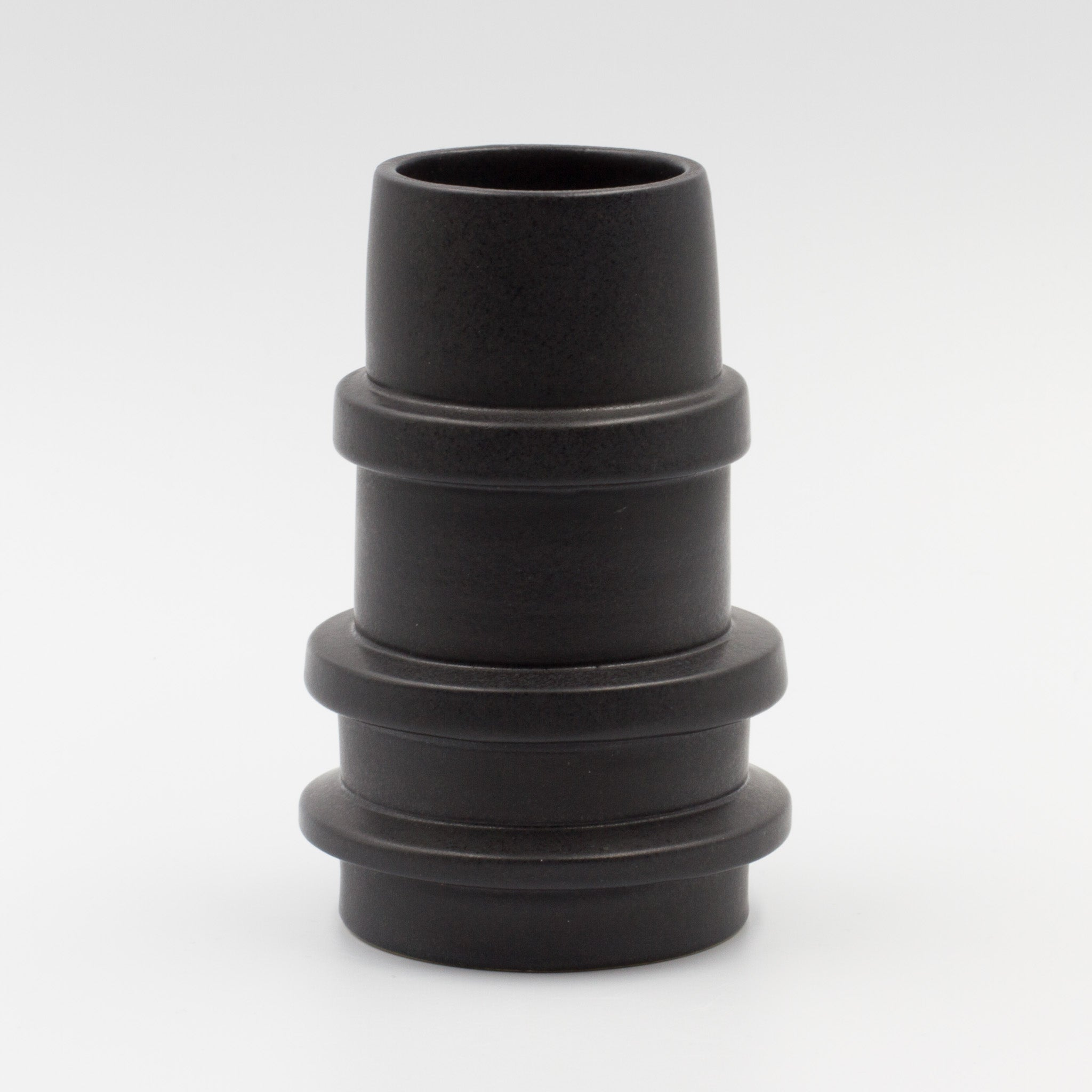 Black Spindle Vase -Tall