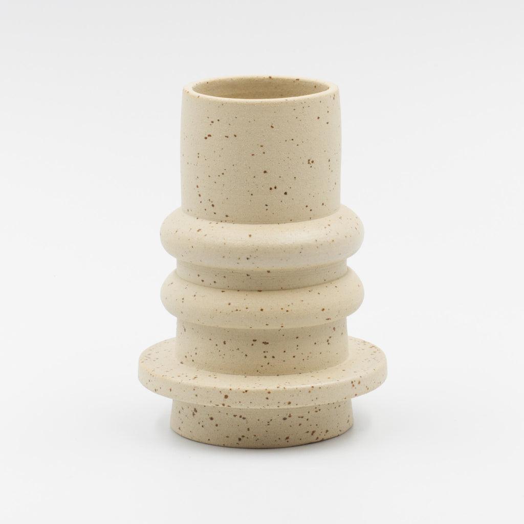 Speckled Spindle Vase-tall