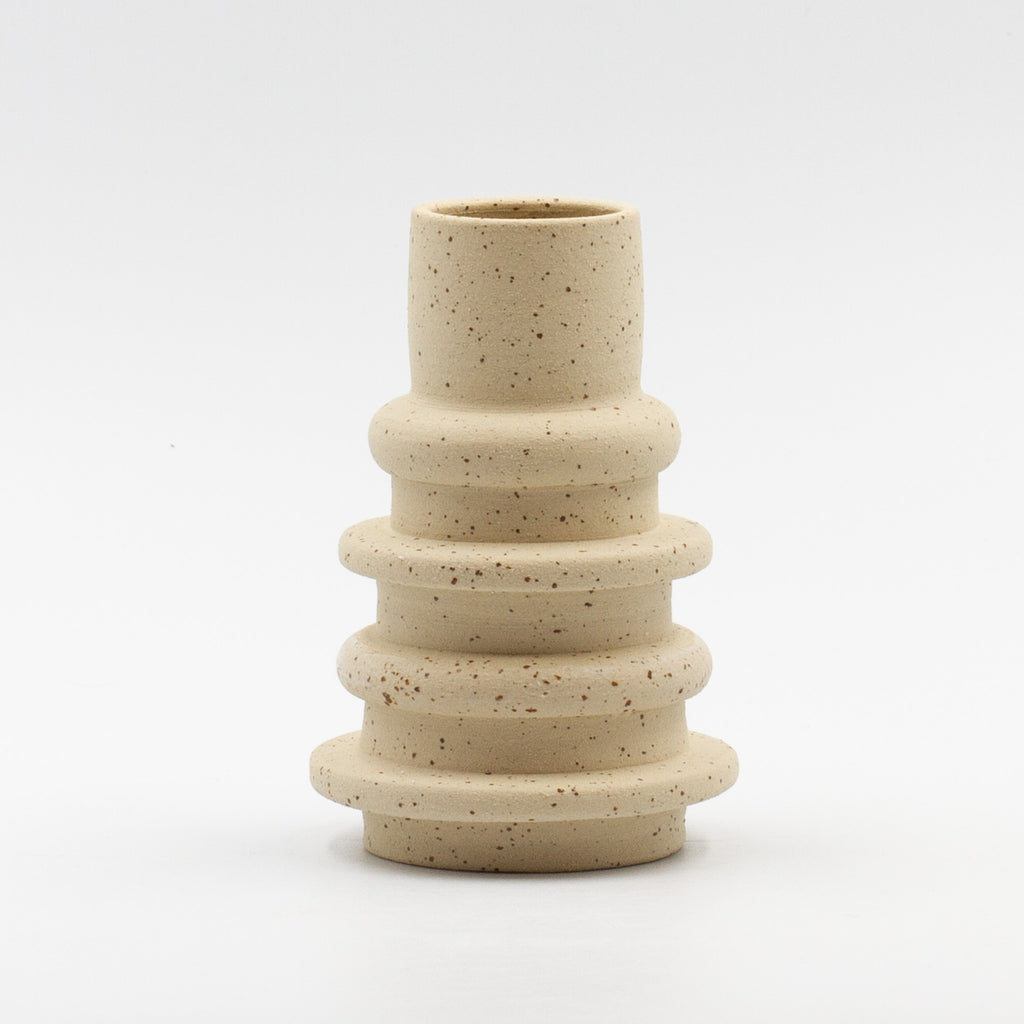 Speckled Spindle Vase