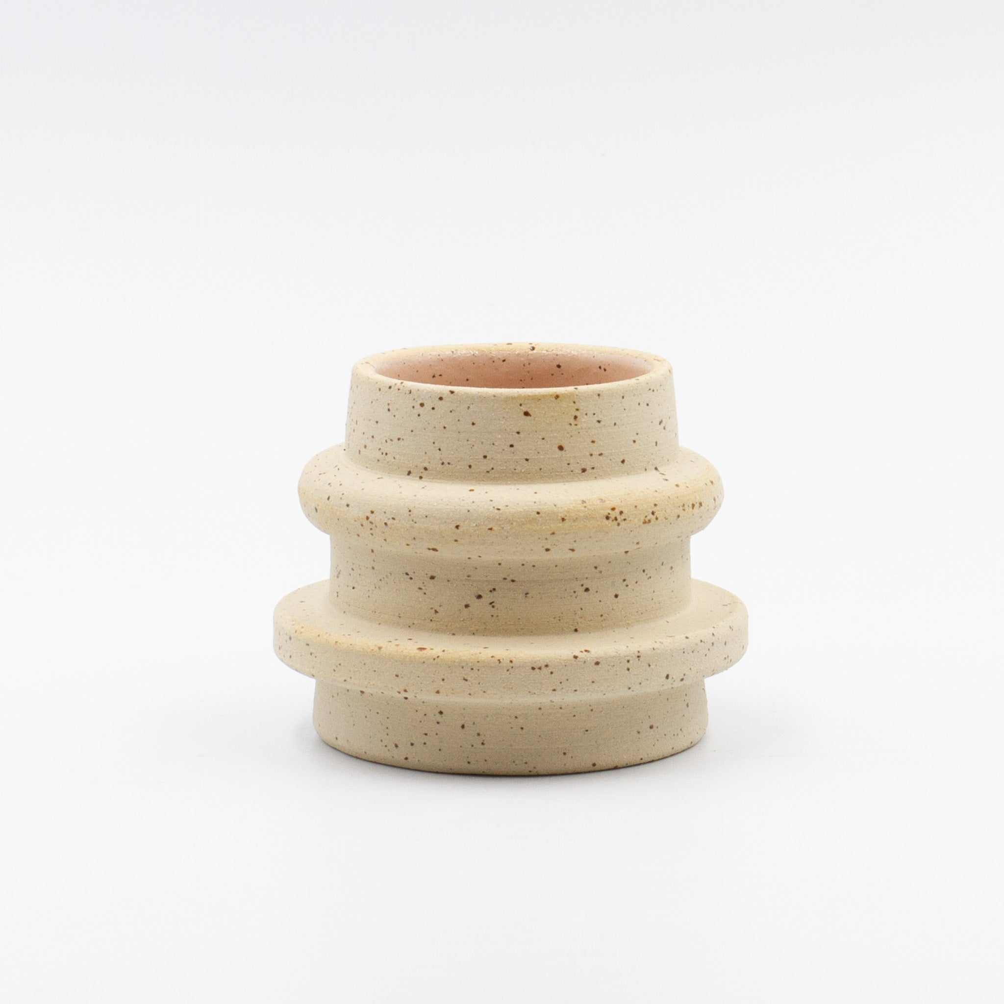 Speckled Spindle Vase-low