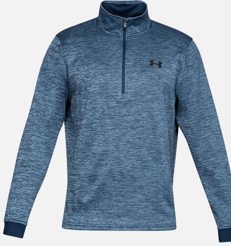 Armour Fleece 1/2 Zip - Blue - Absolute Rugby