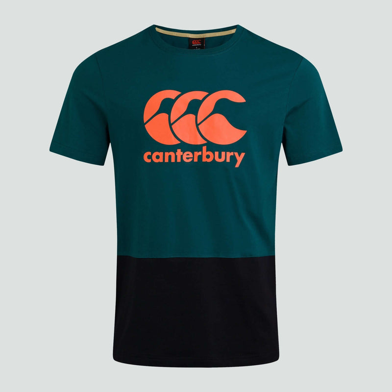 Block Logo Tee I Green - Absolute Rugby