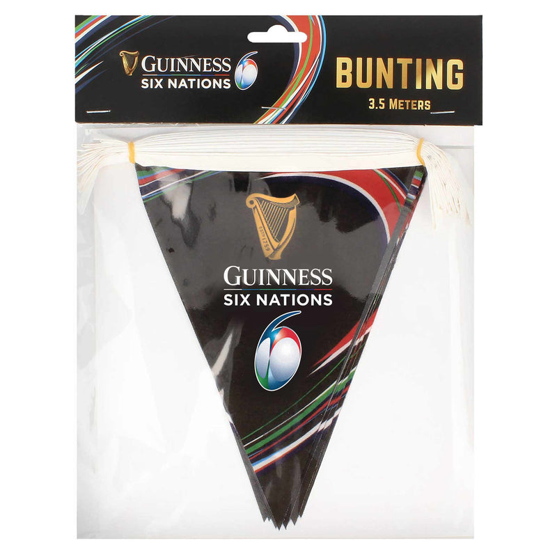Guinness Six Nations Bunting - 3.5Metres