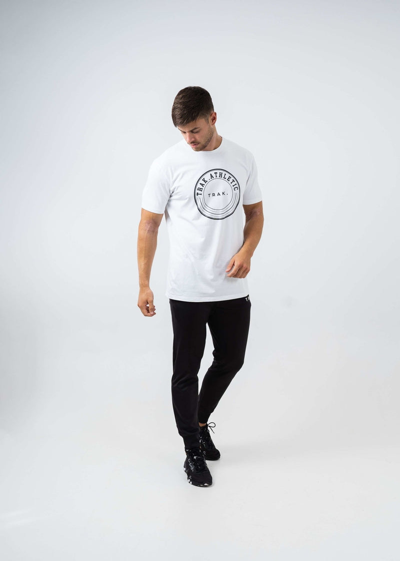 Circle Logo T-Shirt - White - Absolute Rugby
