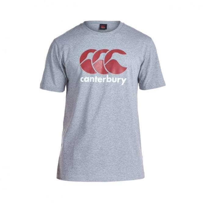 Classic Logo T-Shirt - Grey - Absolute Rugby