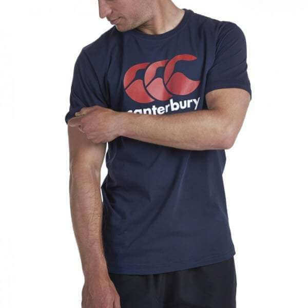 Classic Logo T-Shirt - Navy - Absolute Rugby