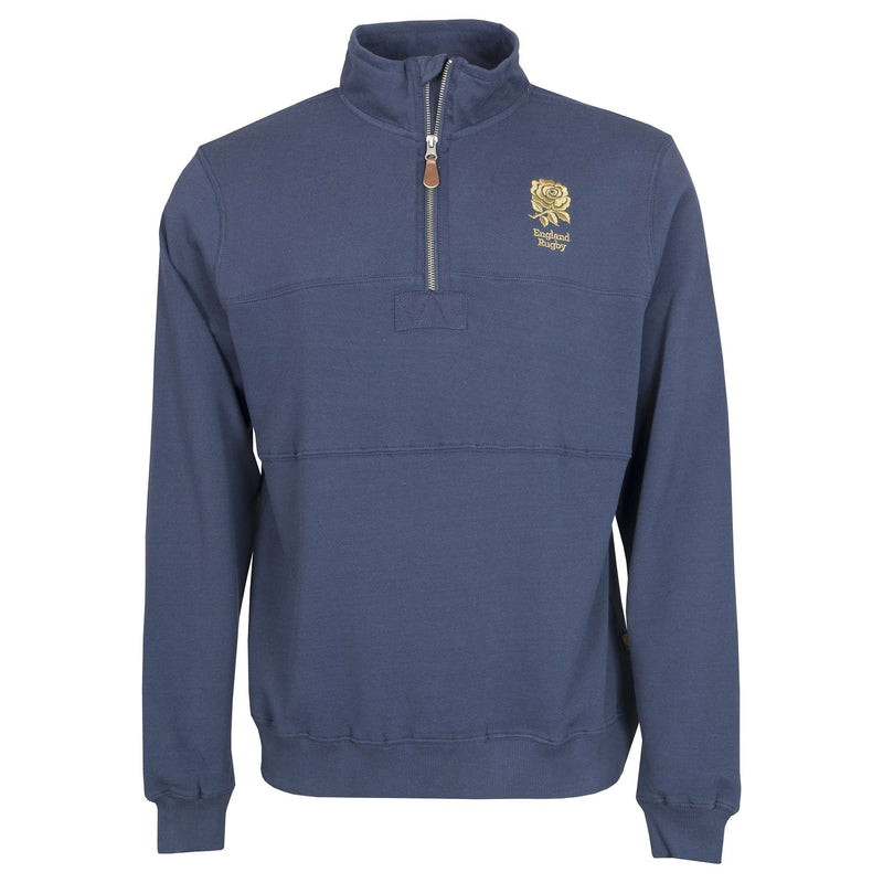 England Rugby 1871 Qtr Zip Sweater - Absolute Rugby