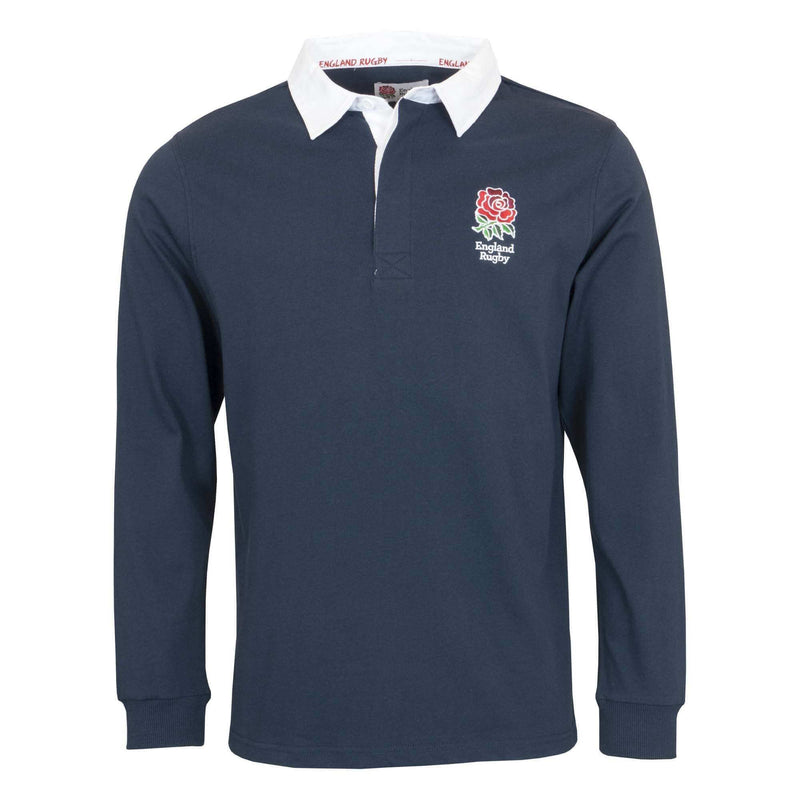 England Rugby 19/20 L/S Rugby Shirt - Navy - Absolute Rugby