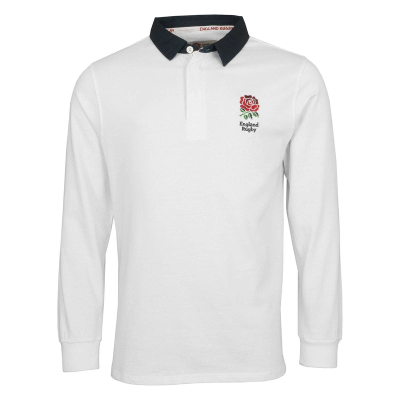 England Rugby 19/20 L/S Rugby Shirt - White - Absolute Rugby