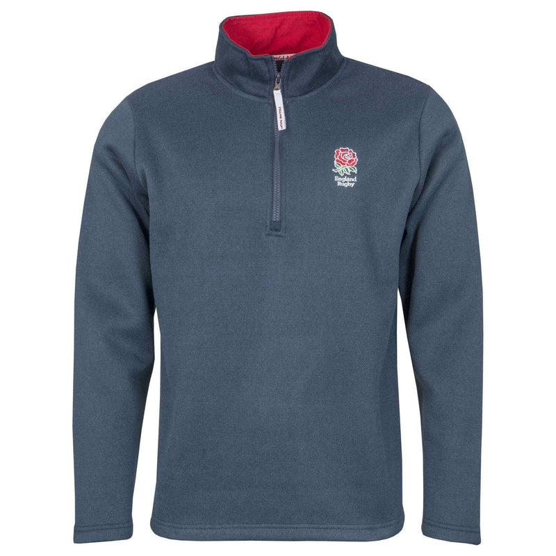 England Rugby 19/20 Zip Neck Jersey Knit - Absolute Rugby