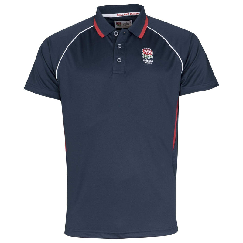 England Rugby 2020 Polyester Polo - Navy - Absolute Rugby