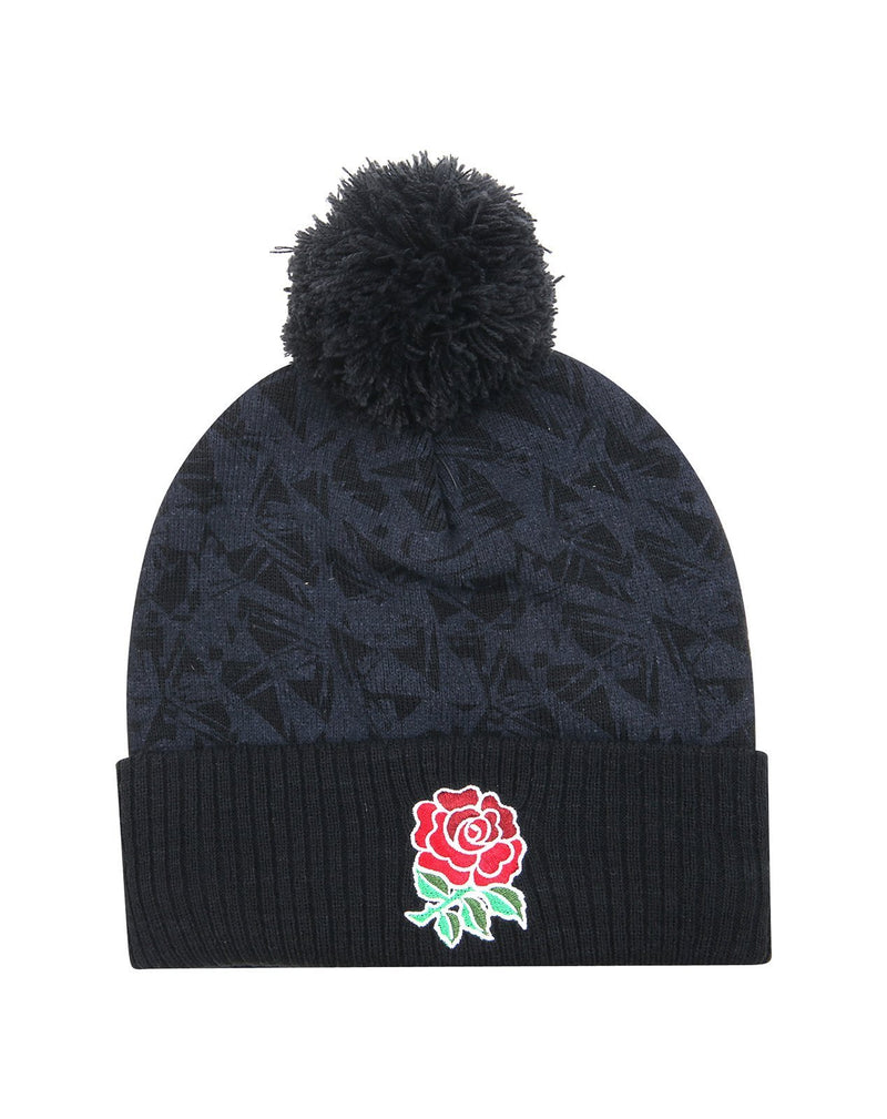 England Rugby Broken Fragment Bobble Beanie I 20/21 - Absolute Rugby