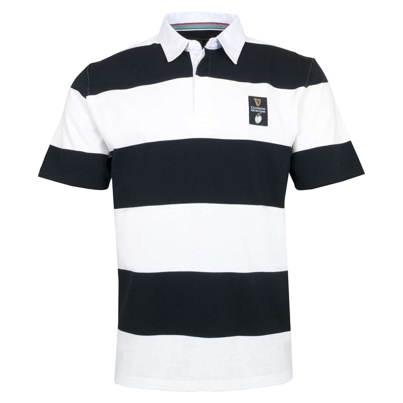 Guinness Six Nations Short Sleeve Hooped Rugby 19/20 - Absolute Rugby
