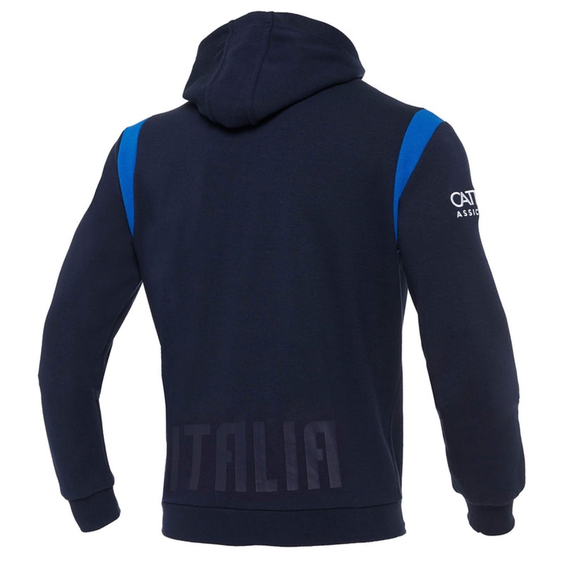 Italy Rugby Zip Up Hoody - 20/21 - Absolute Rugby