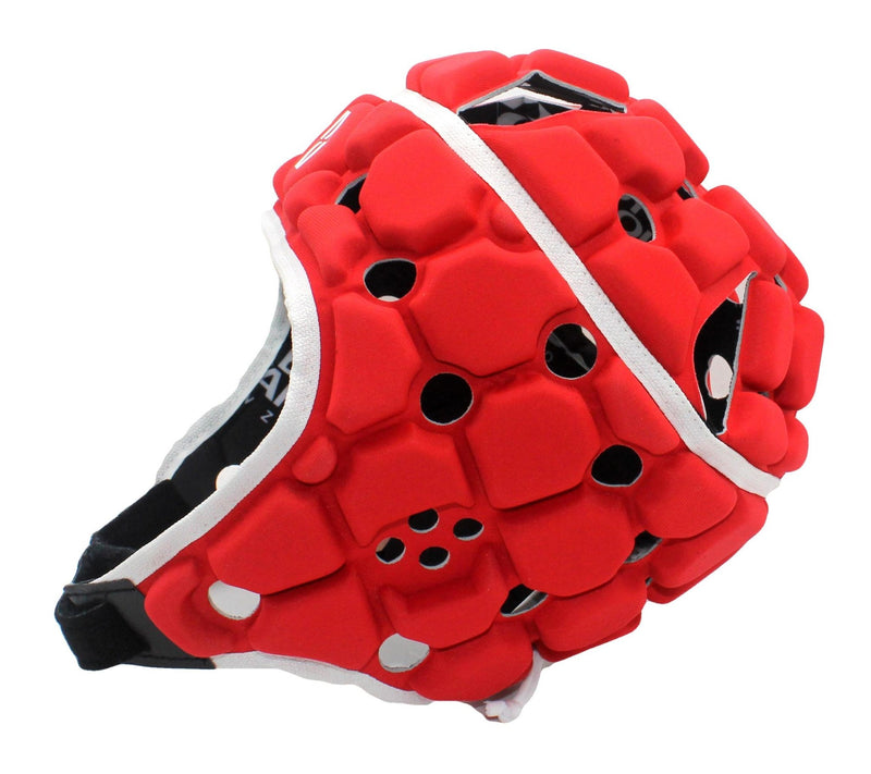 Kids Ventilator Head Guard - Red - Absolute Rugby