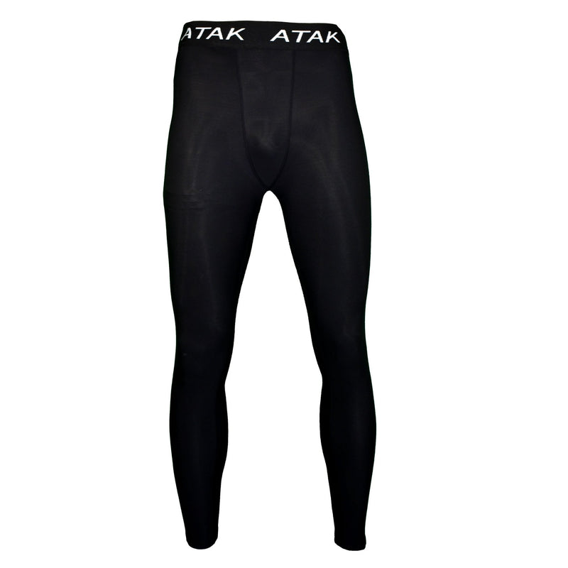 Men's Compression Tights Black - Absolute Rugby