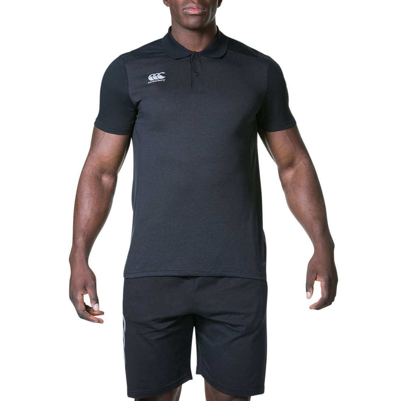 Pro Dry Polo Shirt - Black - Absolute Rugby