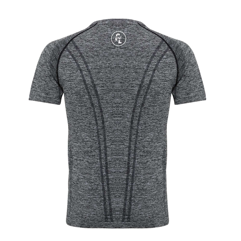 Pro Seamless T-Shirt - Charcoal - Absolute Rugby