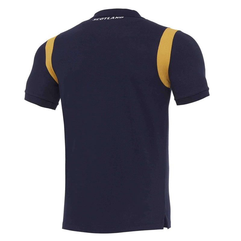 Scotland Rugby Travel Polo - Navy | 2020/21 - Absolute Rugby