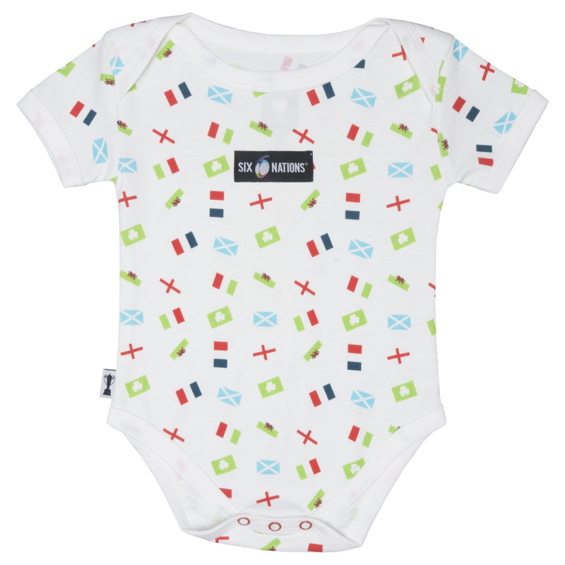 Six Nations Rugby Infants Body Suit - Absolute Rugby