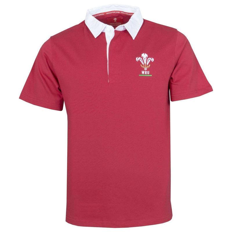 Wales Rugby 19/20 S/S Rugby Shirt - Absolute Rugby