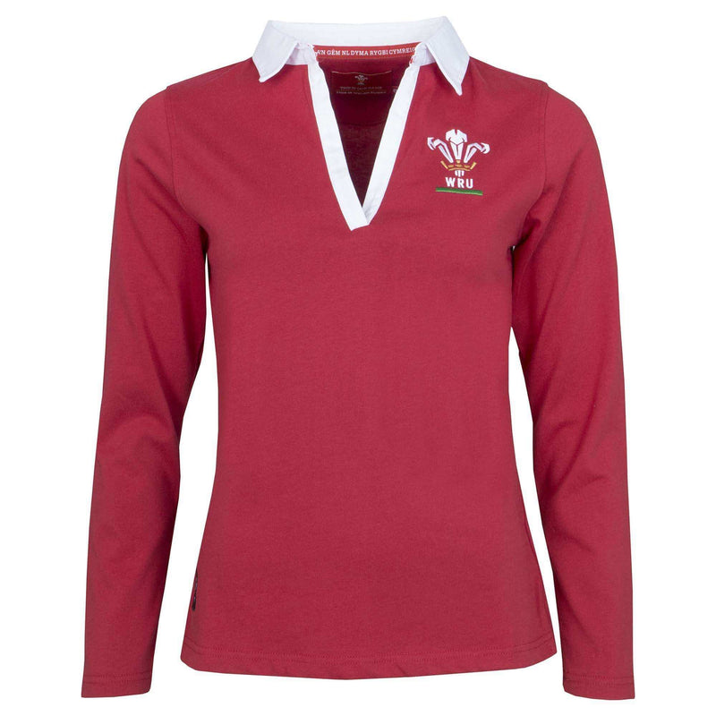 Wales Rugby 19/20 Womens L/S Rugby Shirt - Absolute Rugby