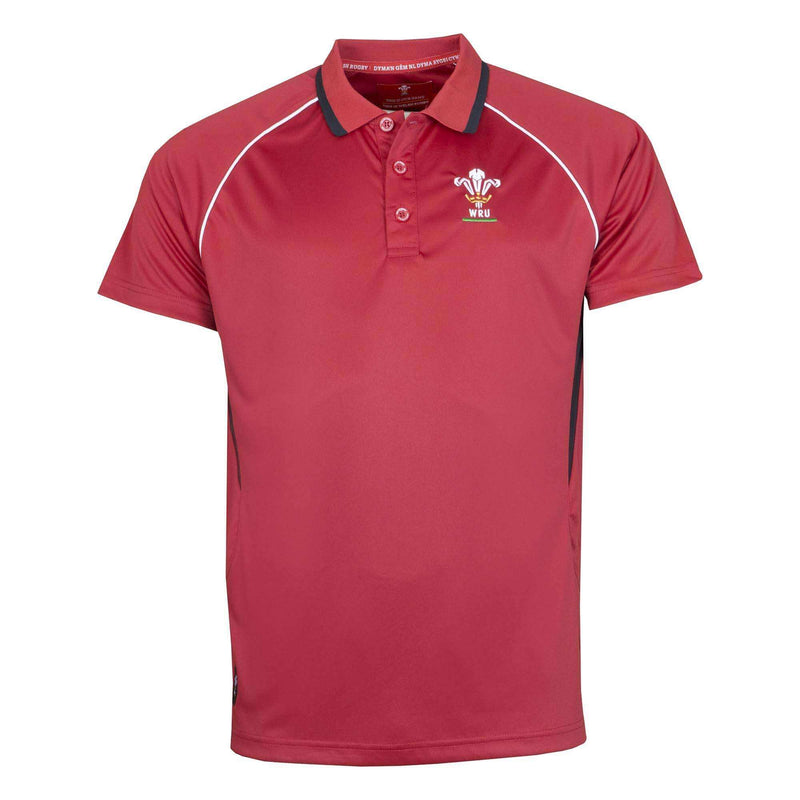 Wales Rugby Kids Panel Polo - Absolute Rugby