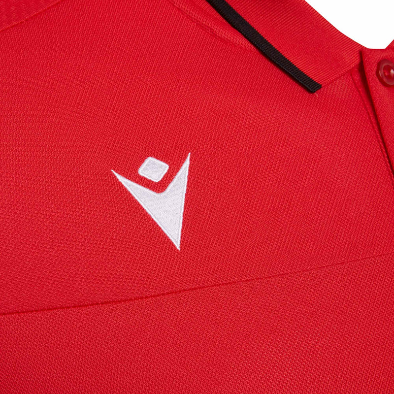 Wales Rugby Poly Travel Polo I Red - 20/21 - Absolute Rugby