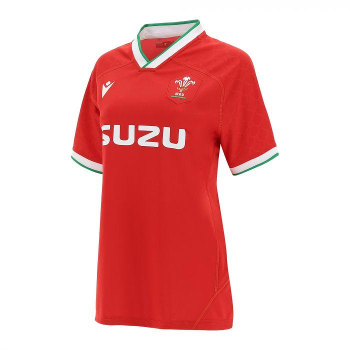 Wales Rugby Womens Home Pro Jersey - 20/21 - Absolute Rugby