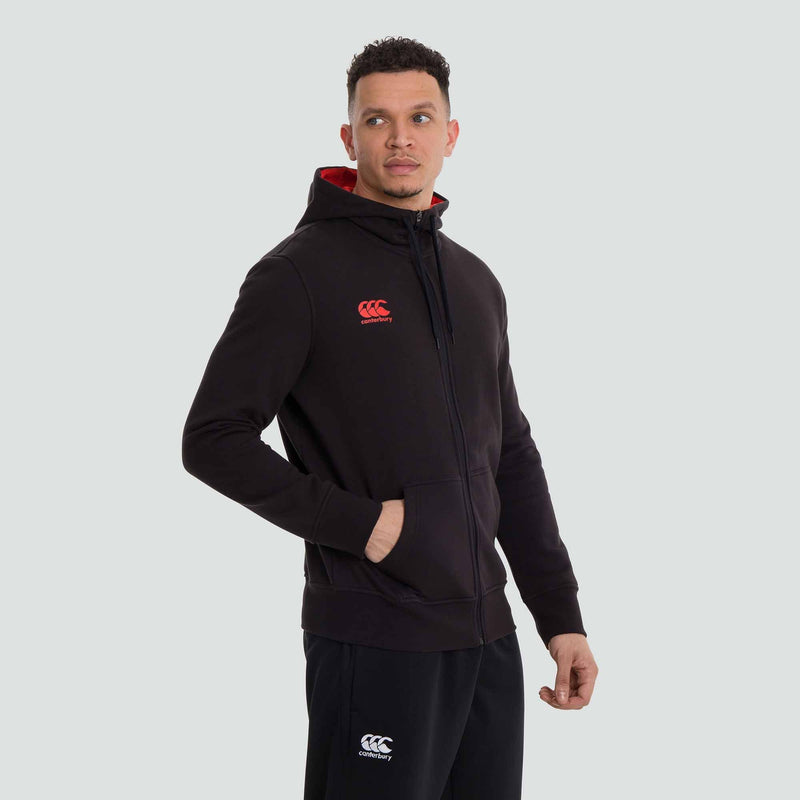 Zip Thru Fleece Hoody - Absolute Rugby