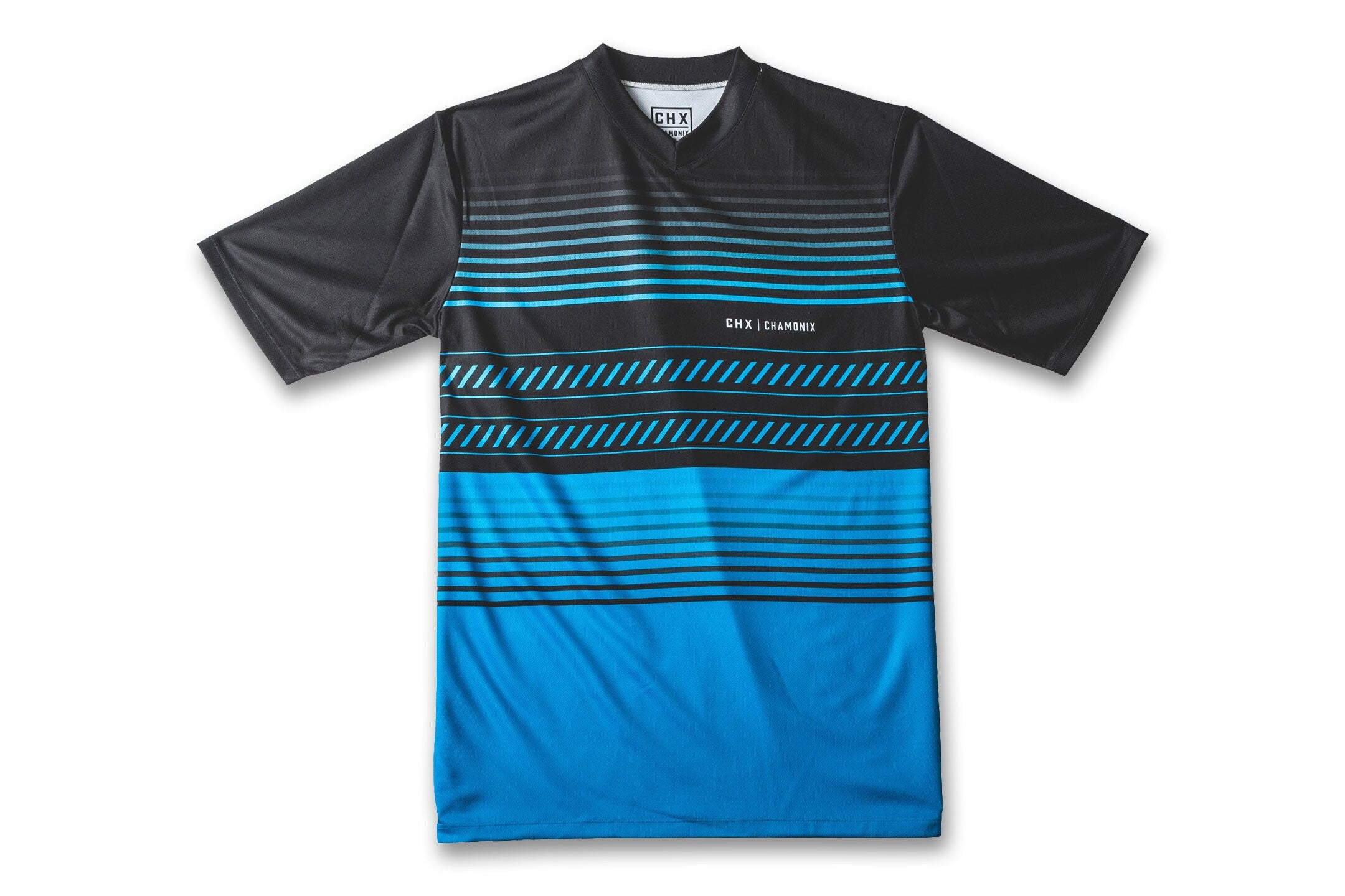 Blue/Black Stripe