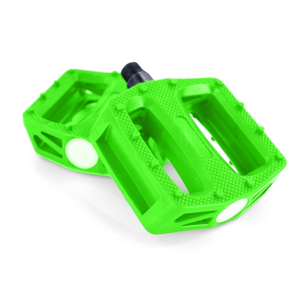 "Wildcat Mini BMX NZ Pedals 9//16"" green"