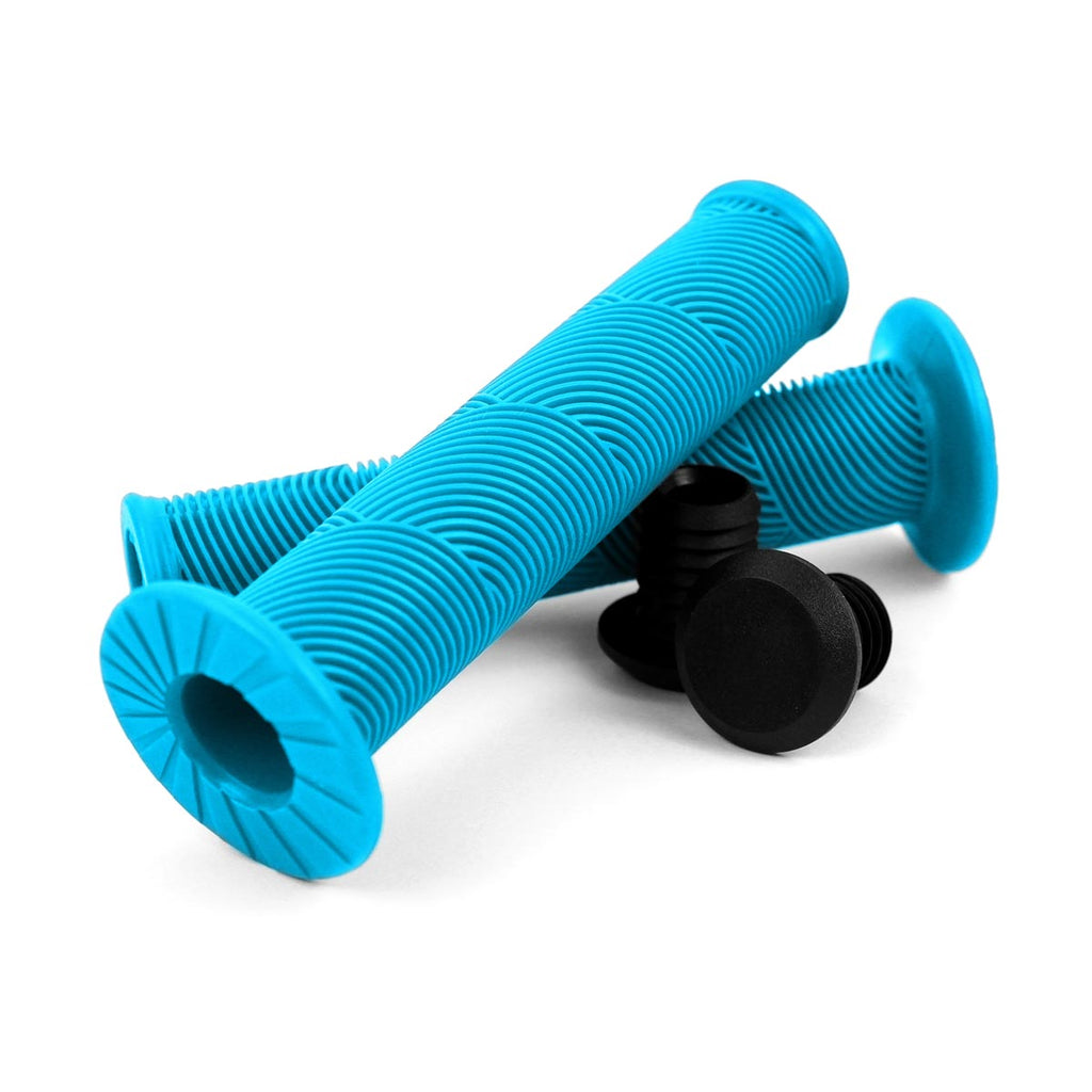 Wildcat Mini BMX NZ handle grips blue