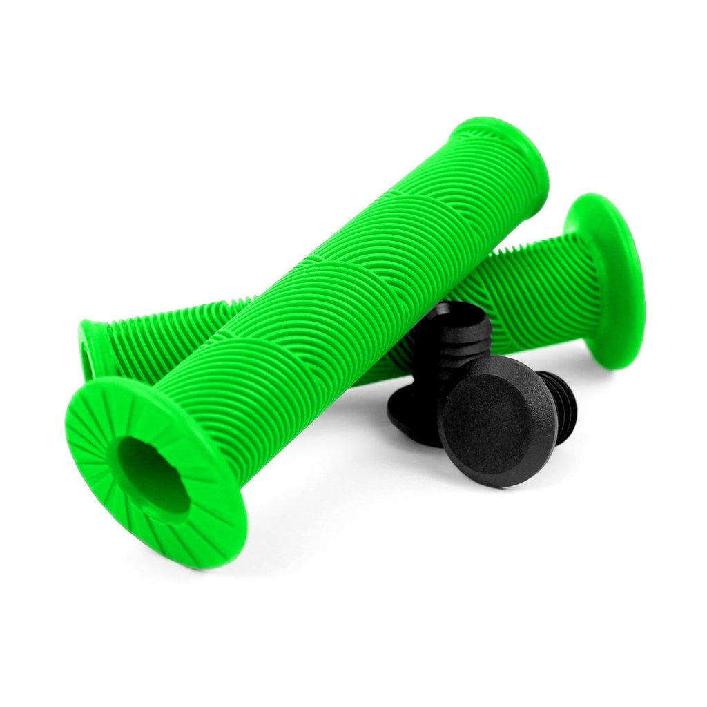 Wildcat Mini BMX NZ handle grips green