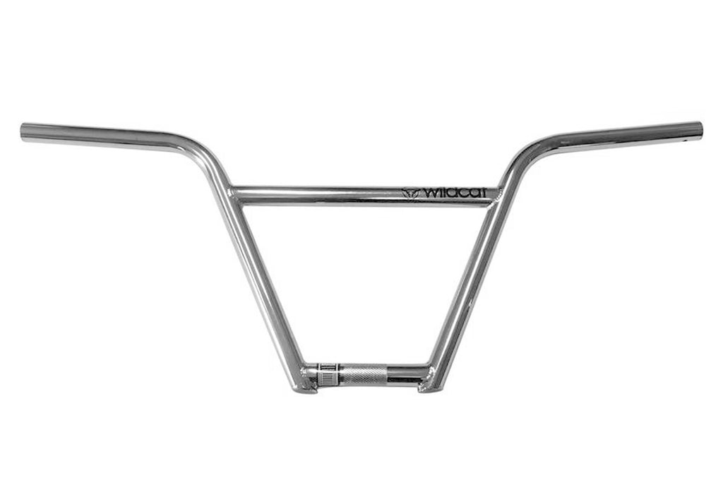 Wildcat Mini BMX 4pc Handle bars Chrome