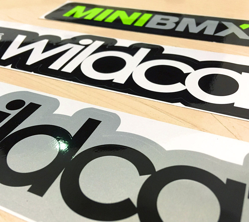 Wildcat / MiniBMX NZ sticker-fiend pack