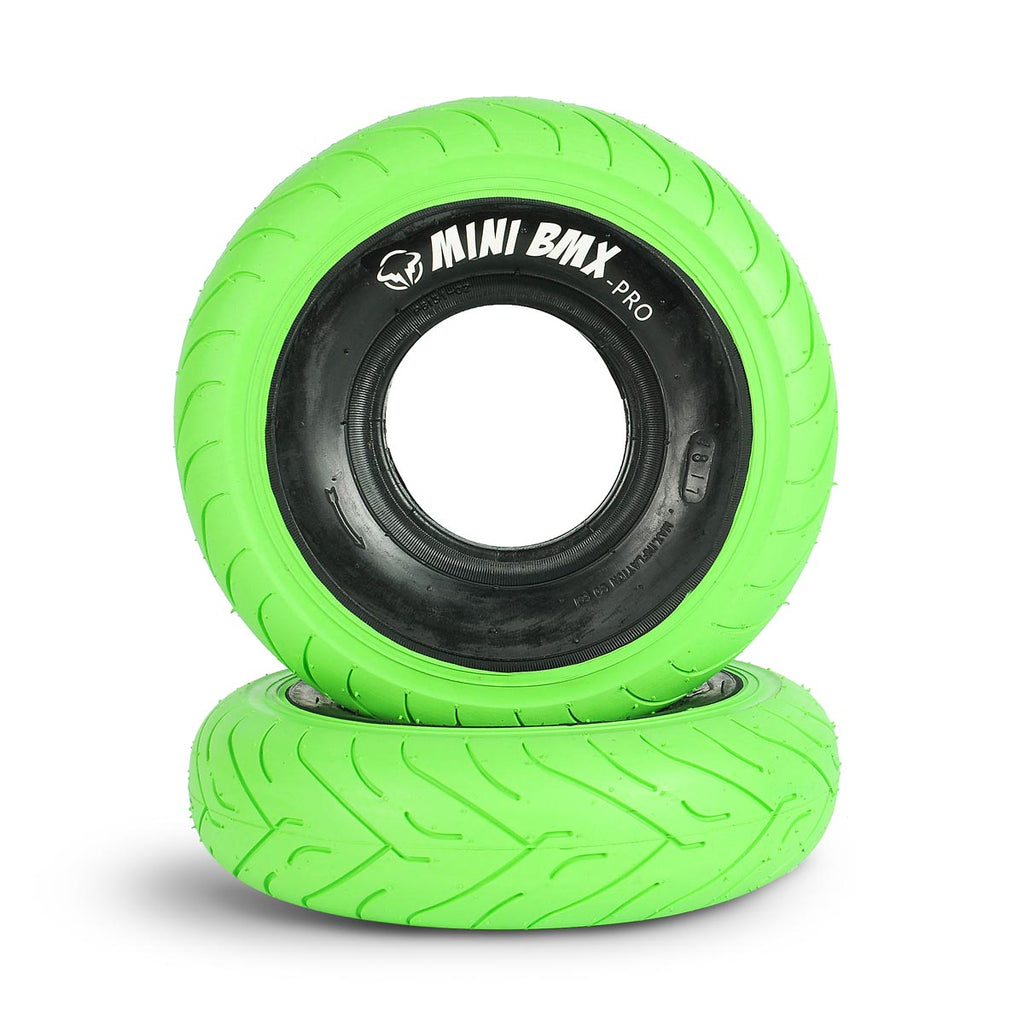 Wildcat Mini BMX NZ Fat Tyres green