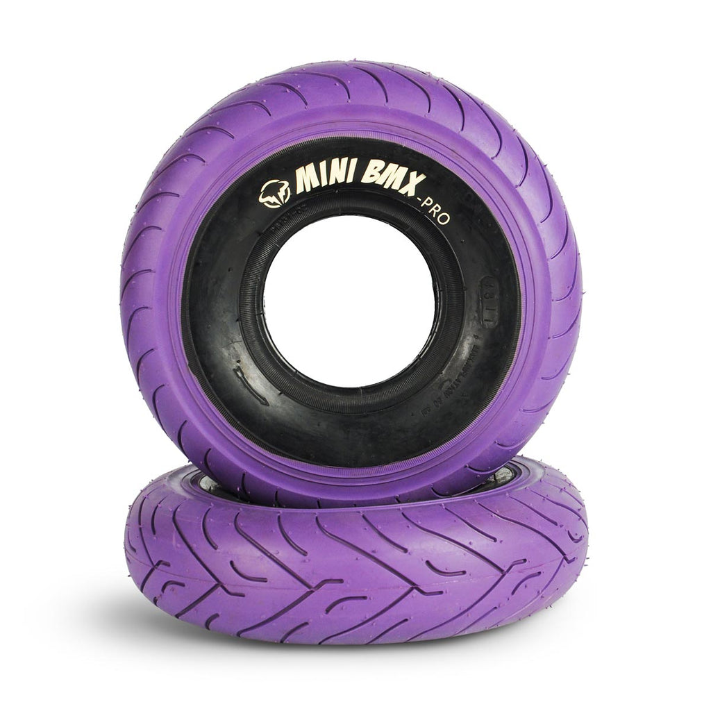 Wildcat Mini BMX NZ Fat Tyres purple