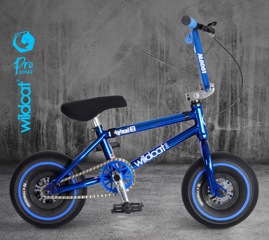 WILDCAT MINI BMX Pro Series BLUE