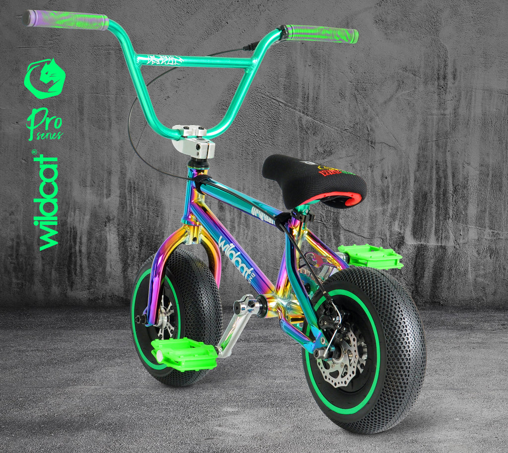 WILDCAT MINI BMX Pro Series - GREEN