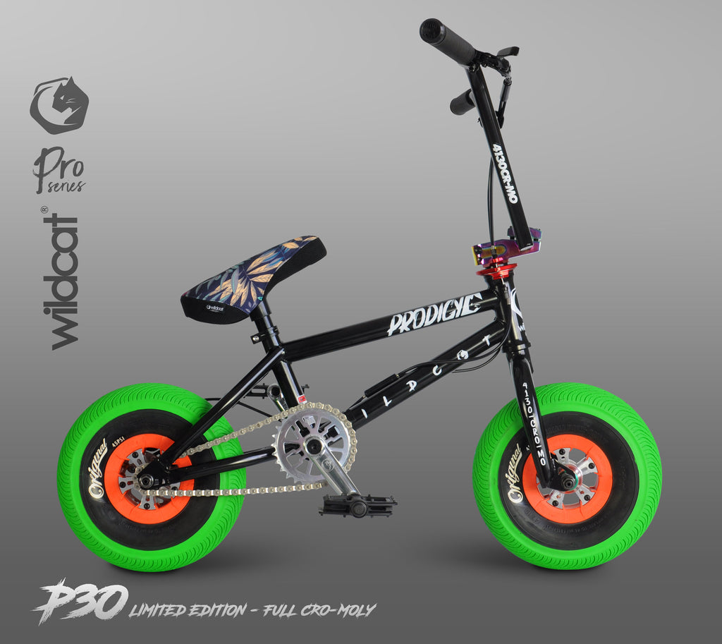 WILDCAT MINI BMX P30 Ltd Edition - Full Cro-Moly Black