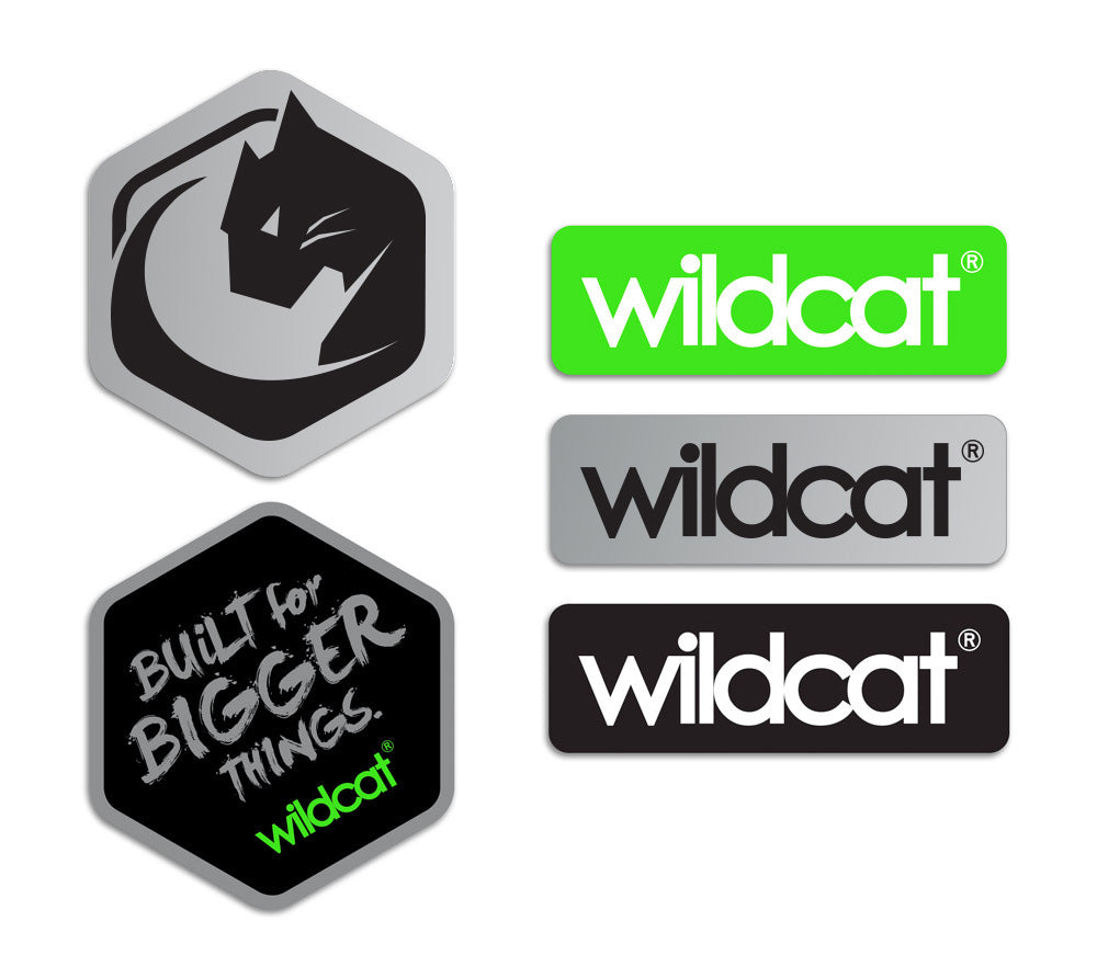 Wildcat / MiniBMX NZ Sticker pack - Small