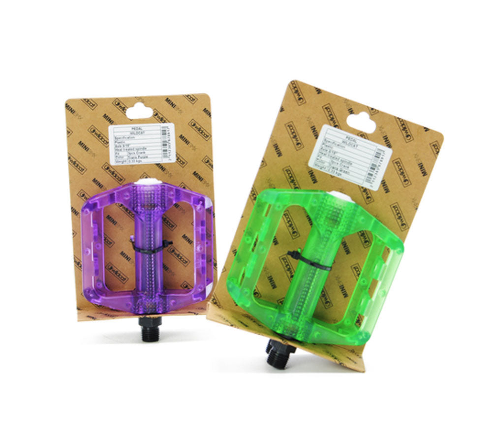 "Pedals  - Transparent 9/16"" thread"
