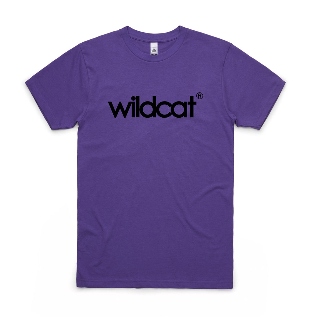 Wildcat MiniBMX Logo tee / Purple