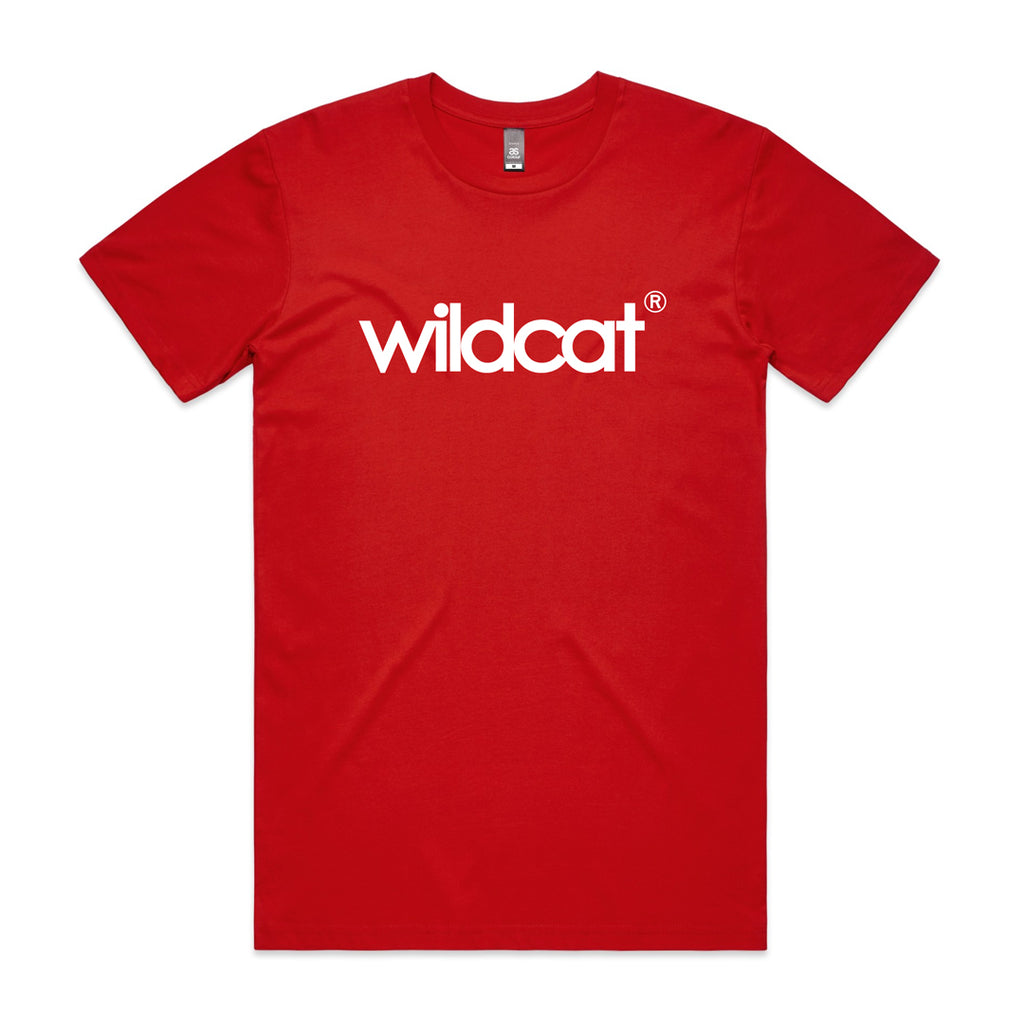 Wildcat MiniBMX Logo tee / Red