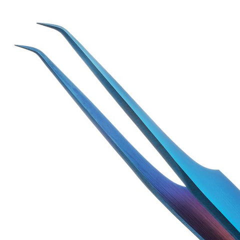 Blue Lash Tweezers