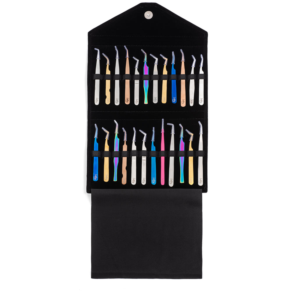 Tweezer Case - In A Clutch - 24 Piece (4591340847166)