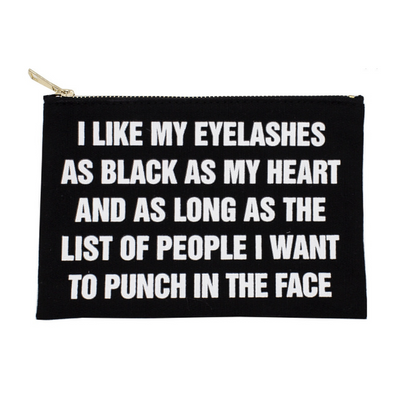 House of Sassy -  Lash Makeup Bag